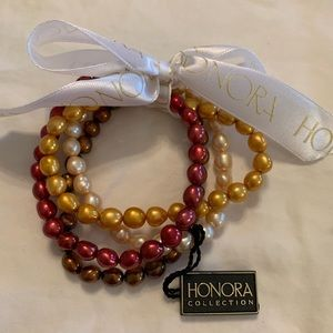 Freshwater Pearl Bracelet Set